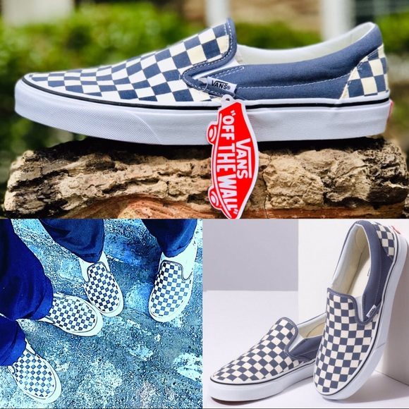 aeda831938 NWT Vans Unisex Grisaille Checkerboard Asher Shoe